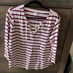 Old navy 3/4 sleeve top